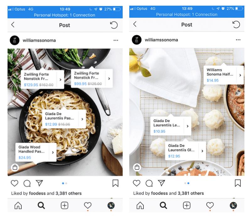 Make money on Instagram - Shop