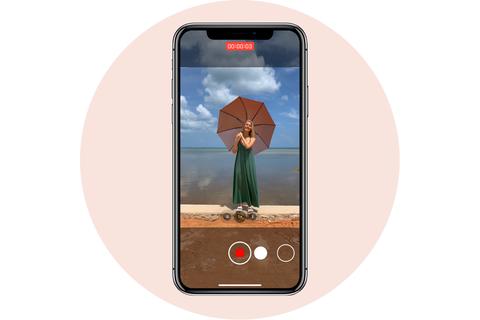 records videos apple iphone